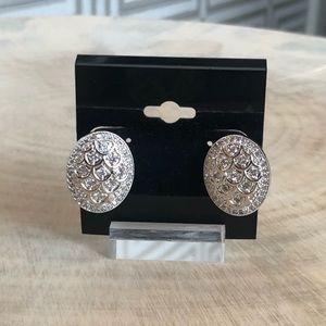 Jewelry - Oval Crystal Earrings